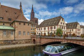 Le centre ville de Strasbourg