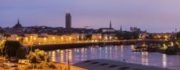 Paysage de la ville de Nantes