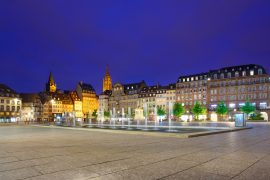 Le centre de Strasbourg