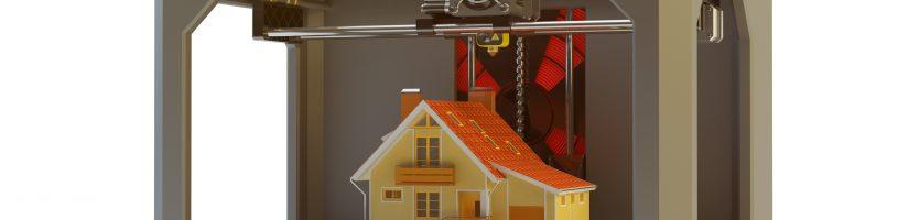 L'immobilier et l'imprimante 3D