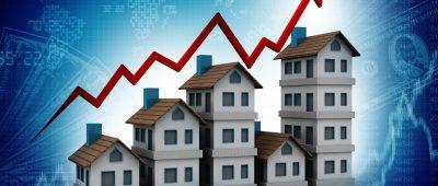 Les prix de l'immobilier augmentent