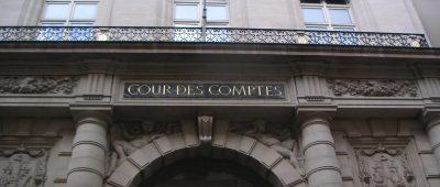 Entrée de la Cour des Comptes à Paris