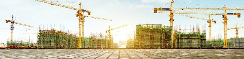 Chantier en construction