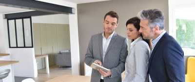 Agent immobilier visite
