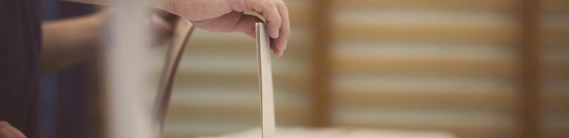 Bandeau urne pour les élections
