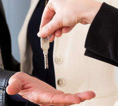 Bandeau remise des clés locataires