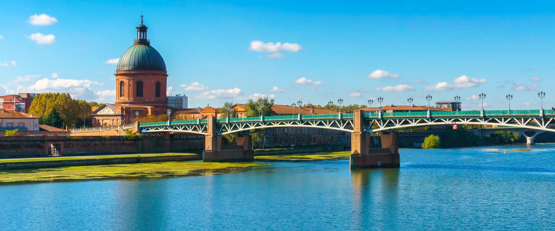 Pont de la ville de Toulouse