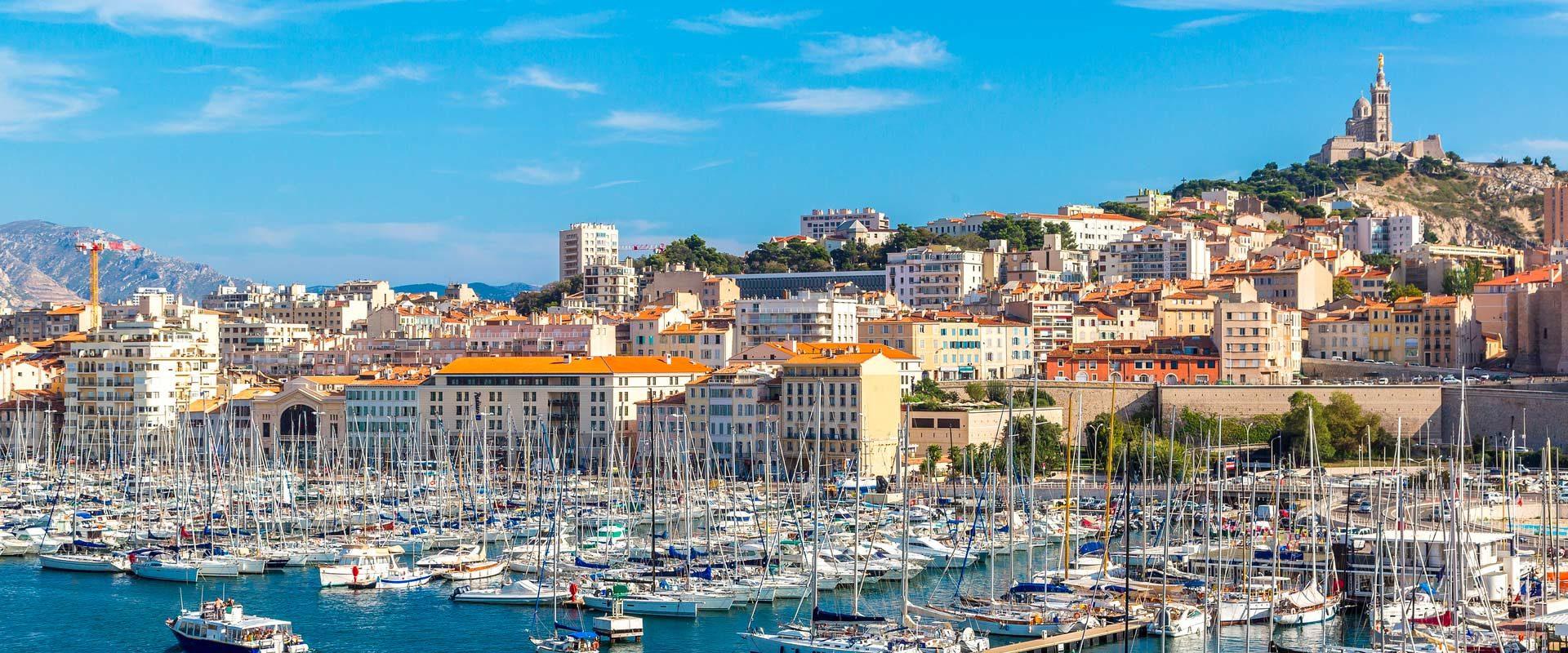 Cover de la ville de Marseilles
