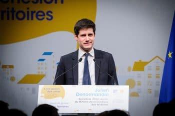 Voeux de Jacques Mézard et Julien Denormandie aux acteurs institutionnels, aux élus et à la presse (Espace Clacquesin - Malakoff)